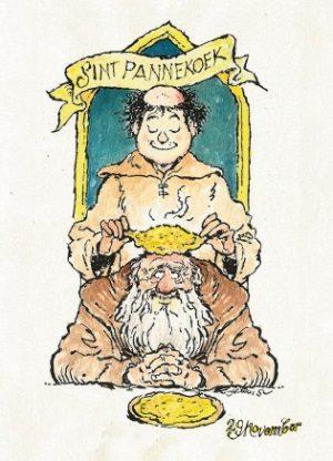 Ansichtkaart Sint Pannekoek: Voorzijde