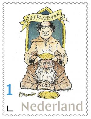 Postzegel Sint Pannekoek